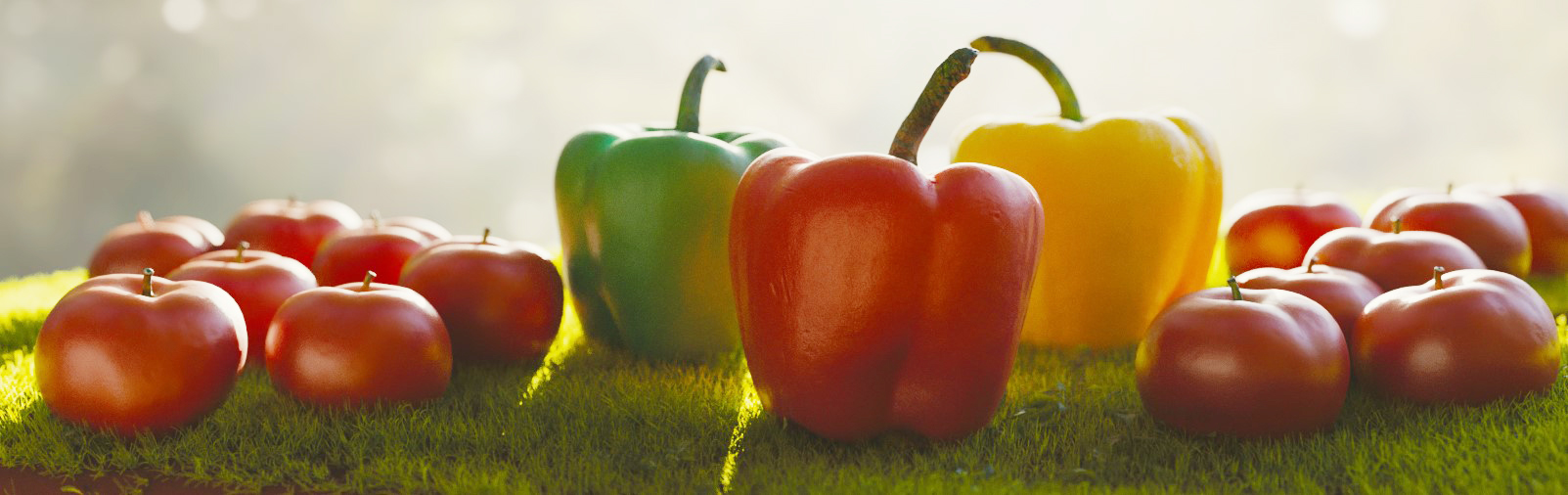 peperoni e pomodori